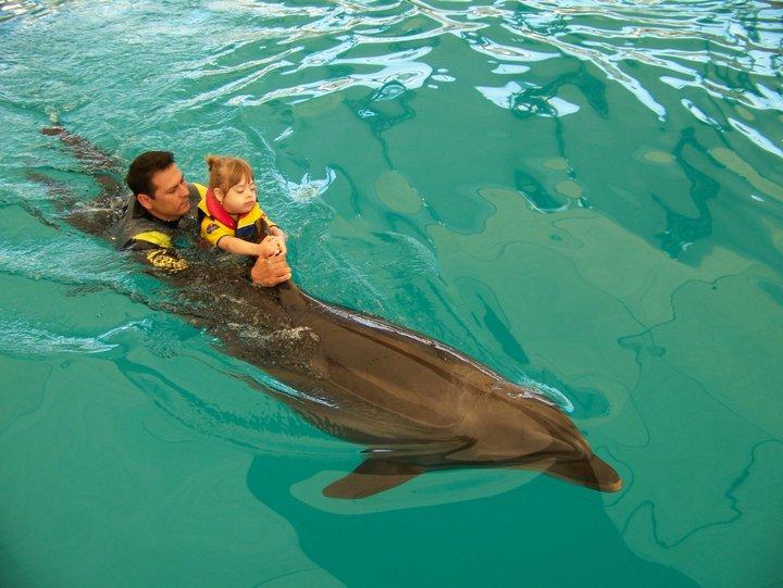 Mamica urbana_delfino-terapia