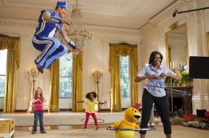 Sportacus _ Michelle Obama_m