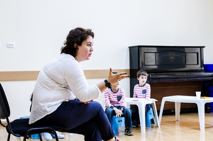 Liviana Tane, profa de storytelling